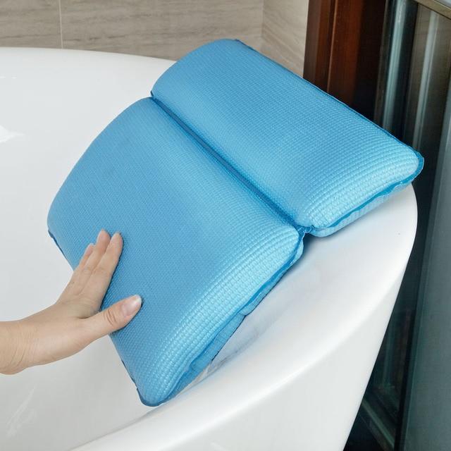 Pvc Foam Waterproof Bath Cushion Bathtub Pillows Spa Supplies Bath Headrest  Pillows For Bathtub Bath Tub