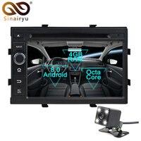 Sinairyu Android 8,0 Восьмиядерный автомобильный dvd плеер Для Chevrolet Cobalt Spin Onix gps навигация Мультимедиа Радио Стерео головное устройство