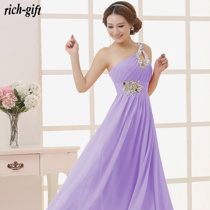ea90c179d2 girls summer women dress casual beautiful sexy long prom gown 2015 with  crystal purple plus size maxi dress rich gift S15-in Dresses from Women's  Clothing ...