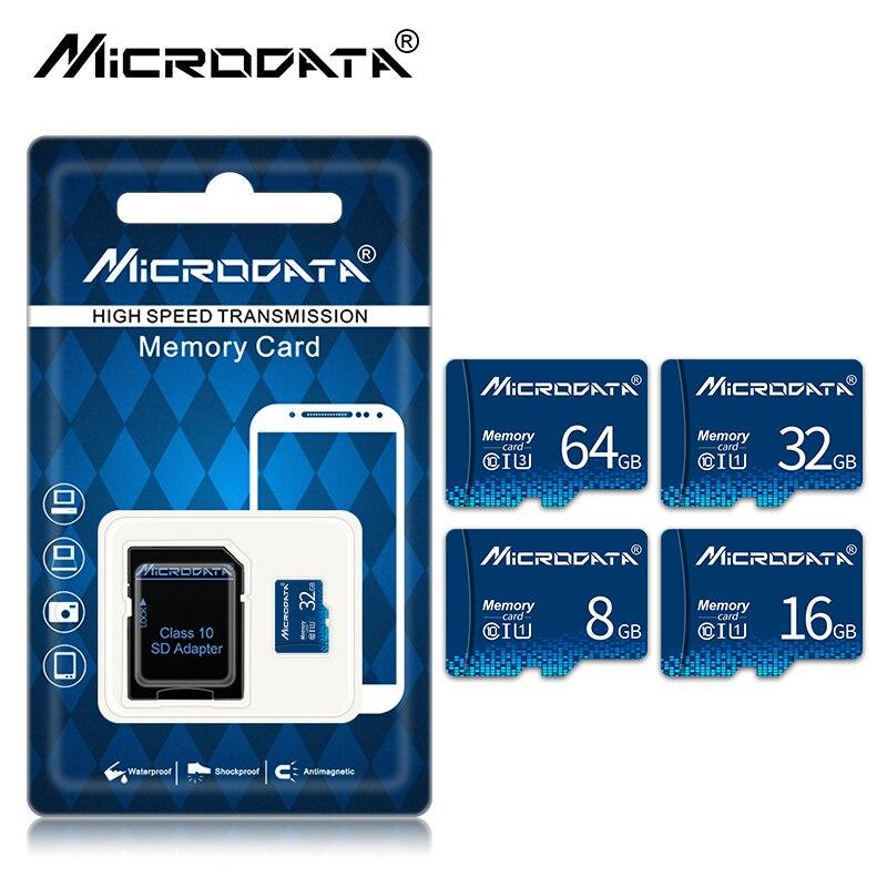 Микро sd-карта Class 10 8 Гб оперативной памяти, 16 Гб встроенной памяти, 32 ГБ, 64 ГБ, карта памяти, C 10 мини SD карты SDHC/SDXC TF карта для смартфона, видеоре...
