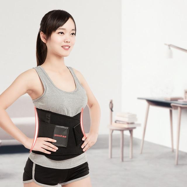 YUWELL slimming body shaper waist Belt slimming wraps Postpartum Tummy Trimmer Body Fat Waist trainer Weight Loss Creams support
