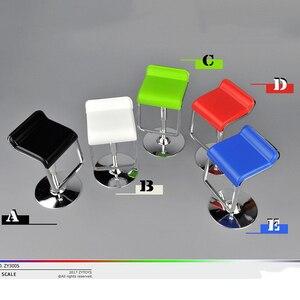 1/6 Lift Chair Square Bar Swivel Seat ZYTOYS Model Family Scene Accessory for 12