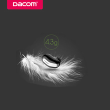 Dacom k8 mono small single earbuds hidden invisible earpiece micro mini wireless headset bluetooth earphone headphone for phone