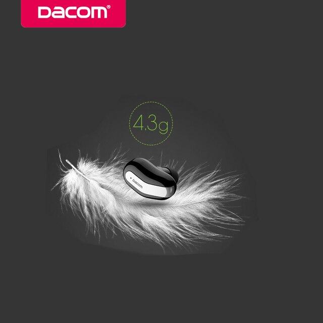 wireless headset bluetooth earphone headphone for phone Dacom k8 mono small single earbuds hidden invisible earpiece micro mini
