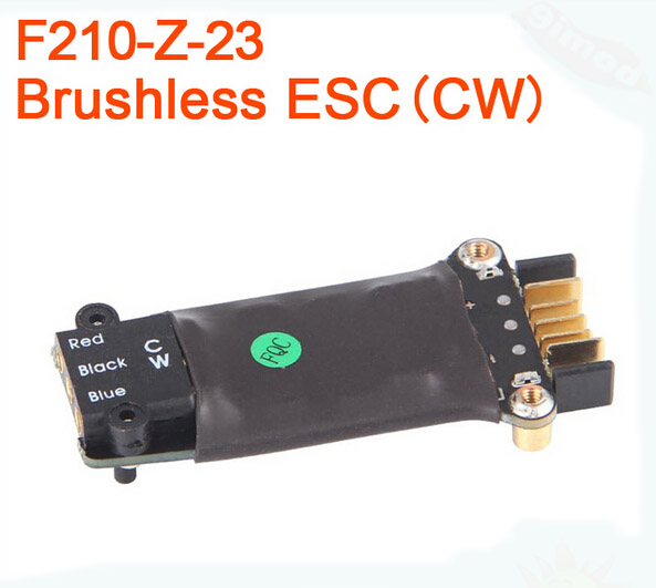 Walkera F210 RC Helicopter Quadcopter spare parts Brushless ESC 250PRO F210-Z-23 CW / F210-Z-24 CCW  original walkera cw brushless esc for f210 3d rc drone