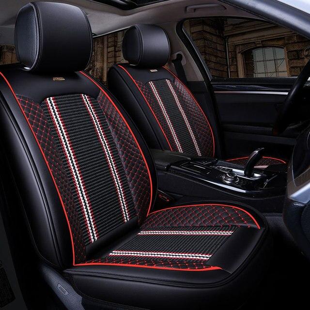 New Luxury Auto Universal Car Seat Cover Automotive Seats Covers For Fiat Panda Grande Punto Stilo