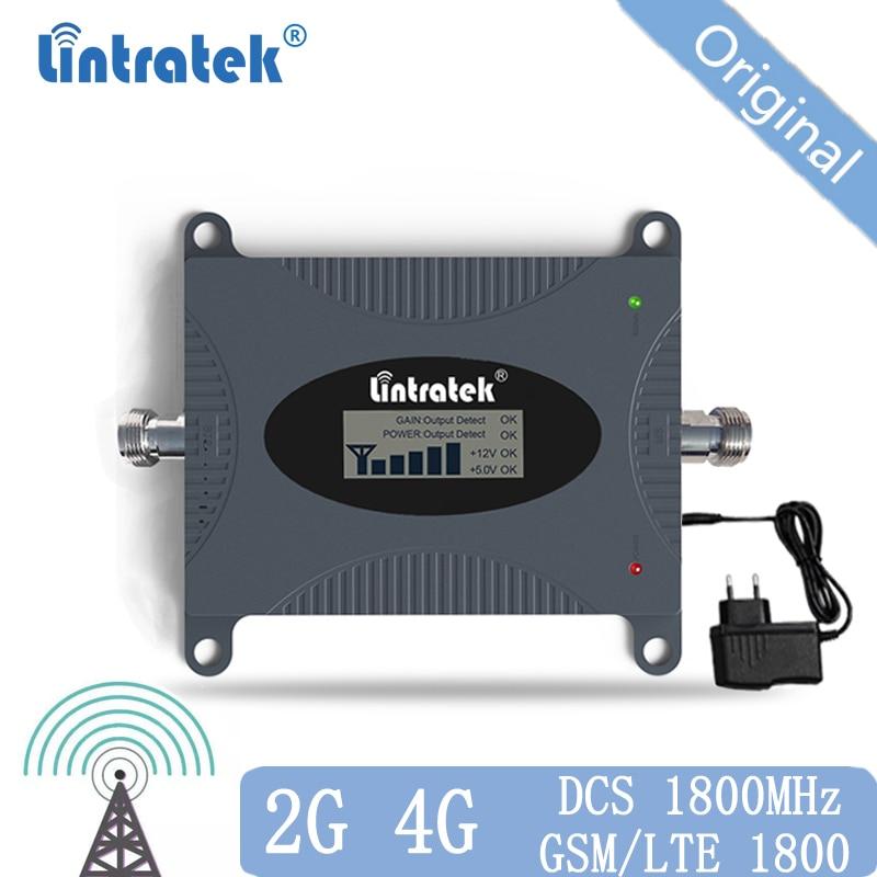 Amplificateur de Signal GSM 4g Lte 1800 MHz amplificateur GSM 2g 4g DCS 1800 répéteur d'amplificateur de Signal de téléphone portable pour RU UKR 40