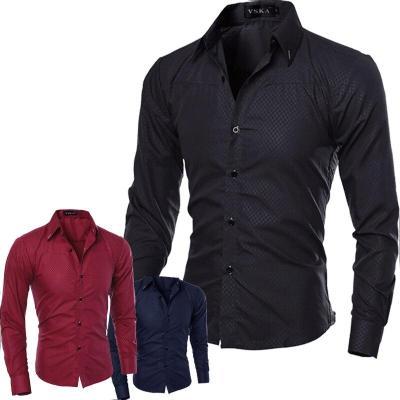 Online Get Cheap Mens Long Sleeve Dress Shirts Cheap -Aliexpress ...