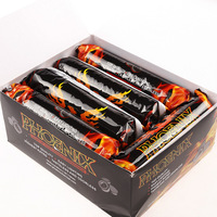 100pca 1 Box Hookah Hookah Shisha Charcoal Fully Burning Coal For Hookah Flat Slow Burning Coconut