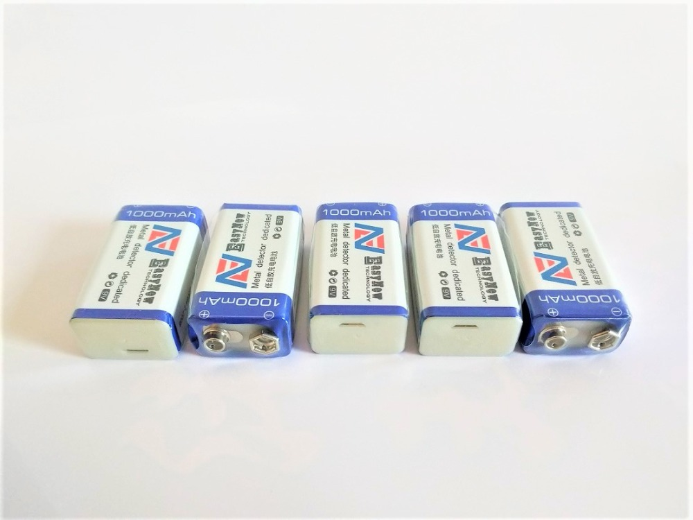 Gran Capacidad 9 V 1000 Mah Batería De Iones De Litio 6f22 Usb Batería Recargable Teclado Batería Recargable Envío Gratis