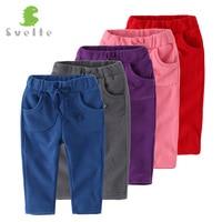 YUHANWOO дети мальчики девочки повседневные брюки для весна осень унисекс штаны из флиса детские спортивные брюки для От 1 до 4 лет