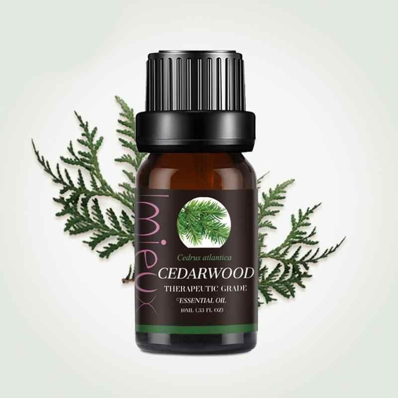 100% aromathérapie Massage naturel huile essentielle Pure Orange Eucalyptus menthe poivrée romarin Relax parfum arôme diffuseur d'huile