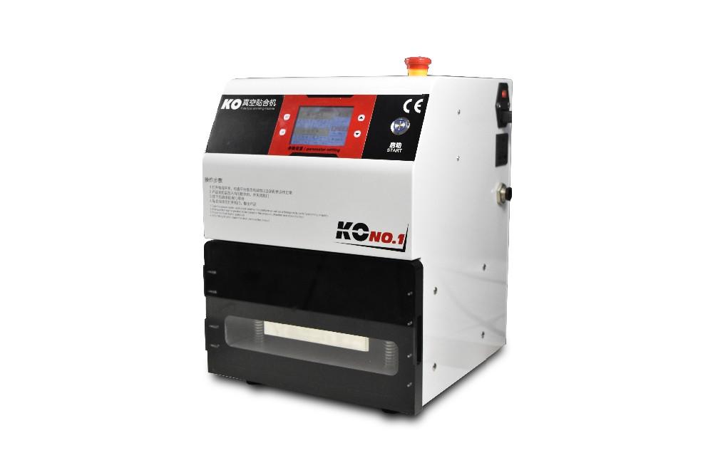 vacuum laminating machine - right side