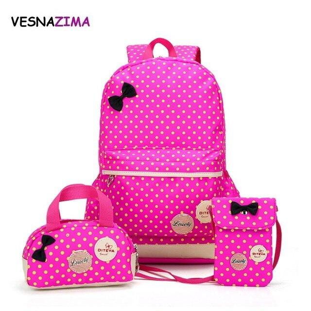 dae17303f87f школьные рюкзаки для девочек рюкзаки для девочек подростков портфель  школьный набор сумок для школы качественный большой