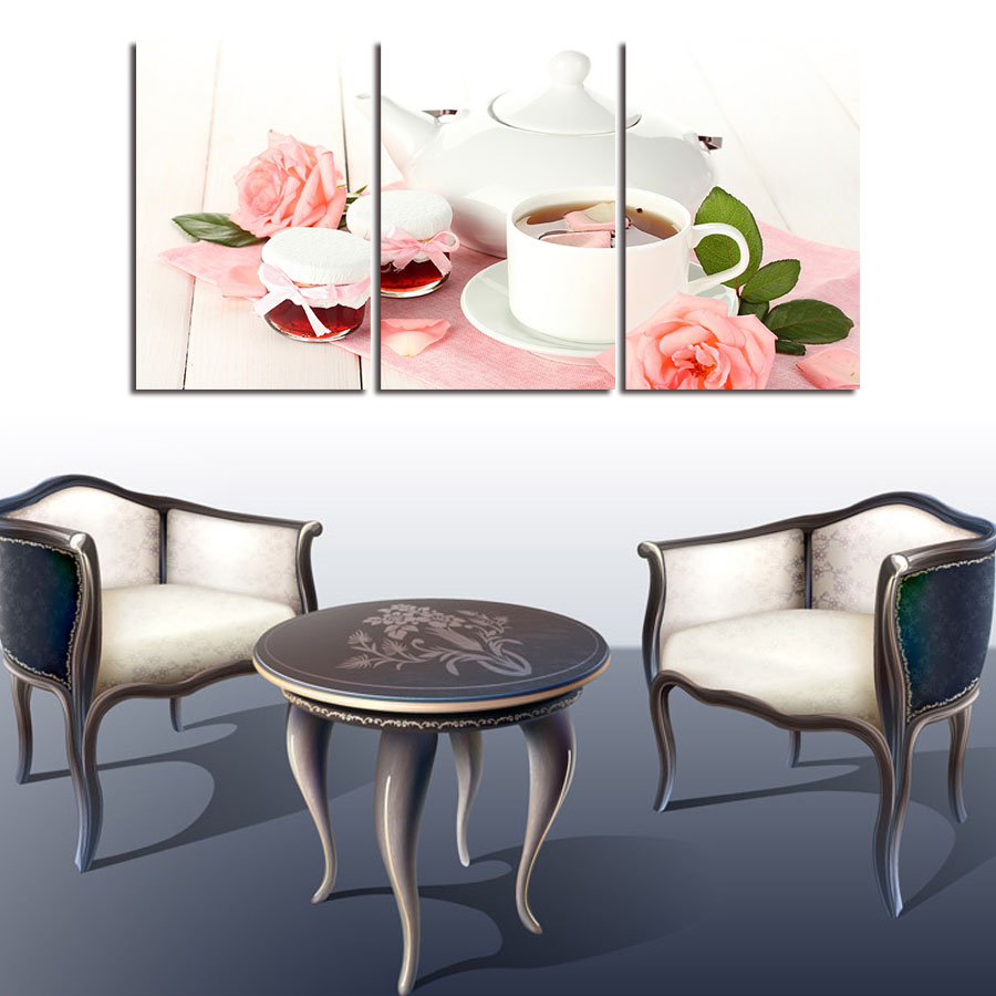 Modern Wall Paintings Living Room Online Get Cheap Rose Pictures Art Aliexpresscom Alibaba Group