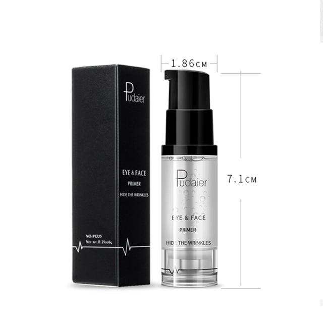 Pudaier 1PC 8ml Primer Makeup Maquillaje Eyes Gel Cream Liquid Smooth Lines Eyeshadow Facial Base Eye Shadow Foundation 5