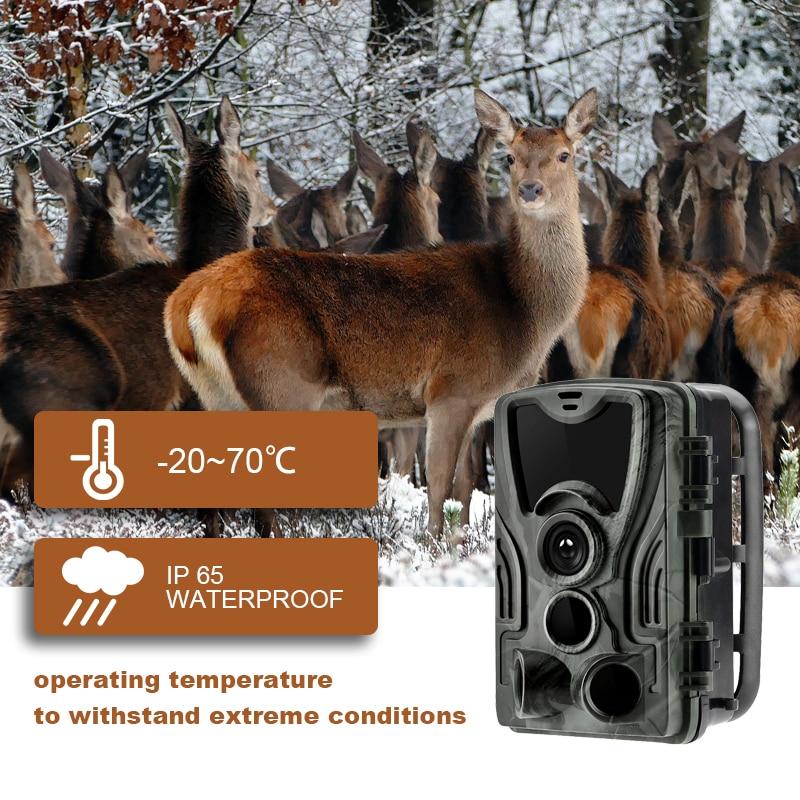 Image 4 - Новейшая охотничья камера gps Беспроводная 4G LTE дистанционное управление приложение охота на Камо камера для съемки диких животных дикой природы фото ловушка скауты HC 801A-in Камеры для охоты from Спорт и развлечения