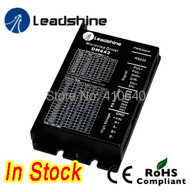 цена на Leadshine DM442 2-Phase 32-Bit DSP Digital Stepper Drive with Max 40 VDC Input Voltage and Max 4.2 Output Current