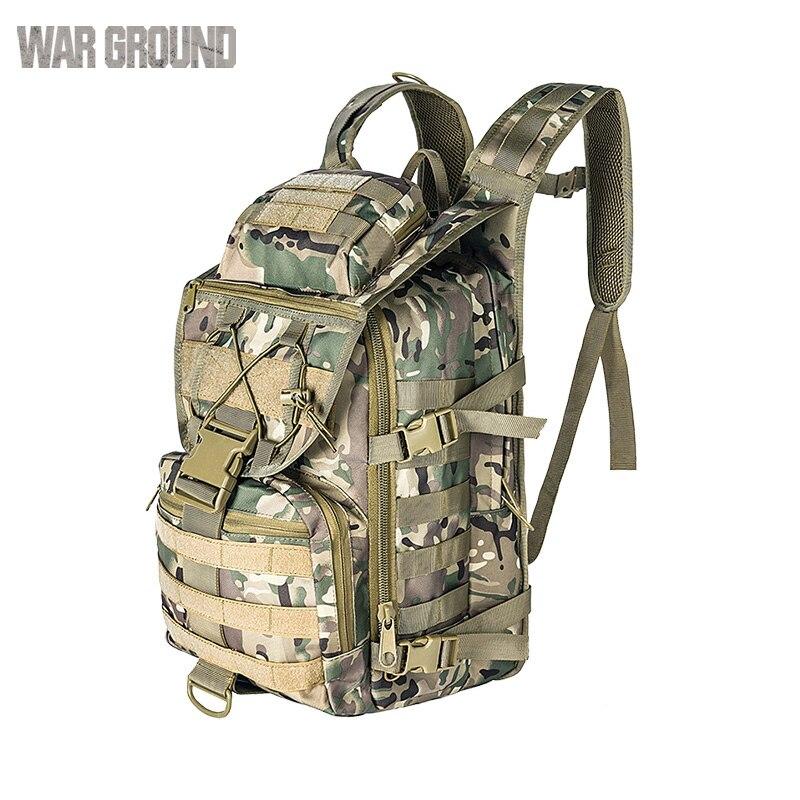 36L extérieur espadon sac à dos tactique Camouflage chasse alpinisme sac à dos Camouflage armée ventilateur sac - 6