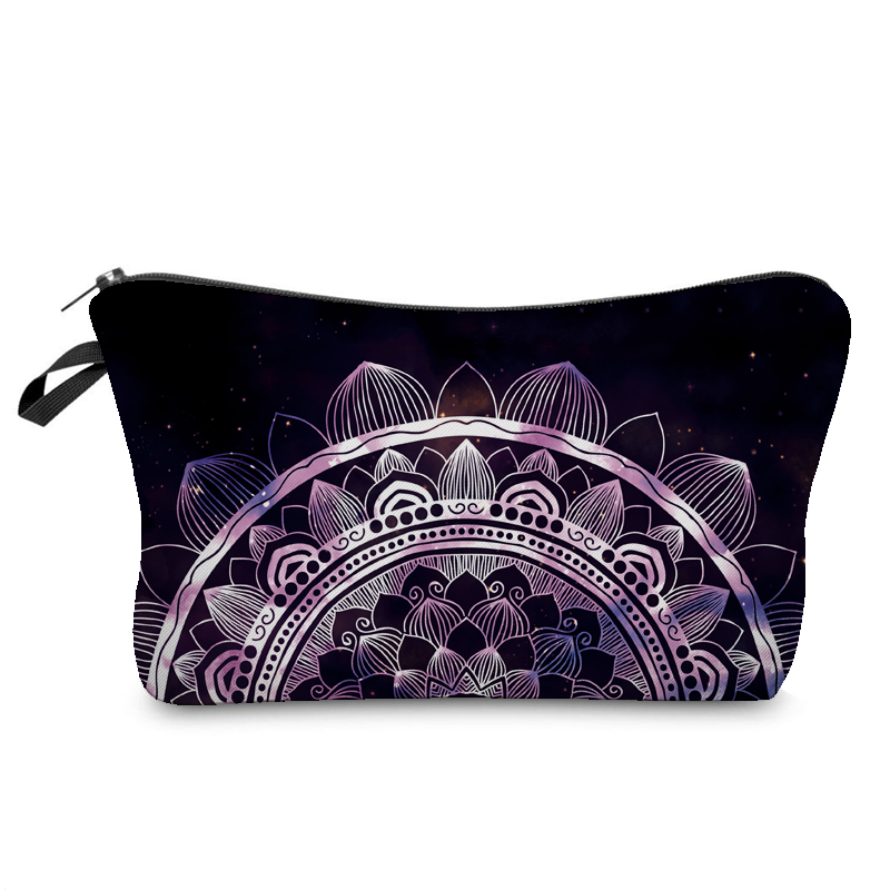 Jom Tokoy Cosmetic Organizer Bag Make Up Heat Transfer Printing Cosmetic Bag Fashion Women Brand Makeup Bag Hzb911