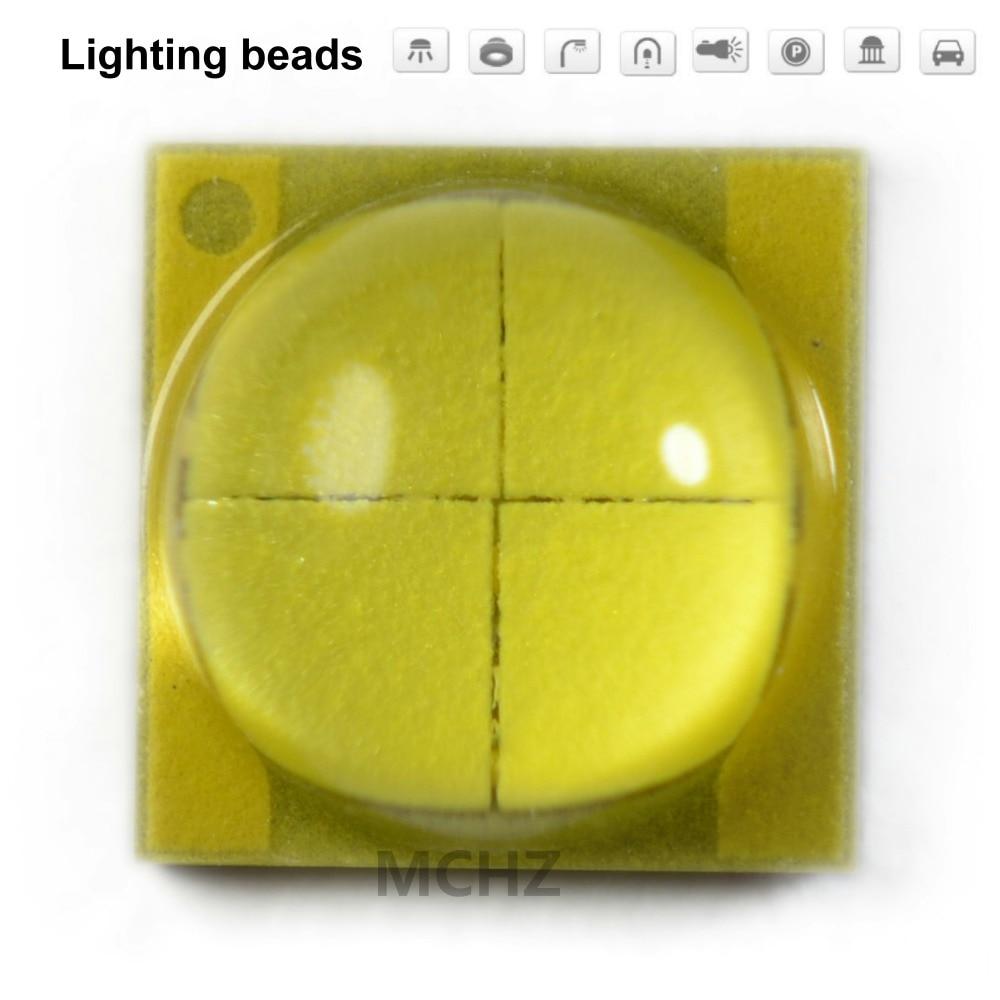 10PCS CREE 5050 20W Flip Chip 5700K 6000K XML XM-L T6 LED U2 10 W Blanco LED De Alta Potencia Chip