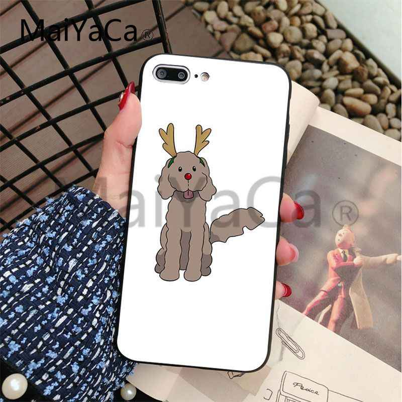 MaiYaCa Yuri on Ice Makkachin Soft Coque Shell Phone Case For Apple iphone 5 5s 5c SE And 6s 7 8 Mobile Phone case