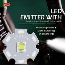 1 PCS CREE XML2 LED XM-L2 T6 U2 10W WHITE Neutral White Warm White High Power LED Emitter with 12mm 14mm 16mm 20mm PCB for DIY