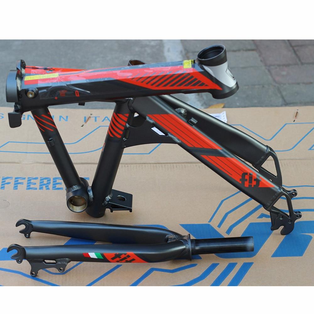 JAVA Fahrrad FIT Aluminium Klapp Rahmen & Gabel 20 \