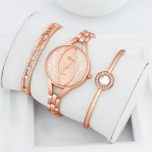 2019 Fashion Rhinestone Women's Watches Luxury Brand Bracelet Ladies Quartz Dress Watches reloj mujer Watches Suit Women Clock цена в Москве и Питере