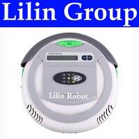 4 em 1 Multifuncional Robot Vacuum Cleaner (Vacuum  Varredura  Esterilizar  Sabor Air)  LCD  controle remoto  Ajuste do Tempo  Auto Carga|Aspiradores de pó|Eletrodomésticos -