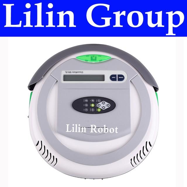 4 en 1 multifuncional Robot aspiradora (vacío barrido esterilizar aire sabor) LCD control remoto tiempo ajuste de la carga