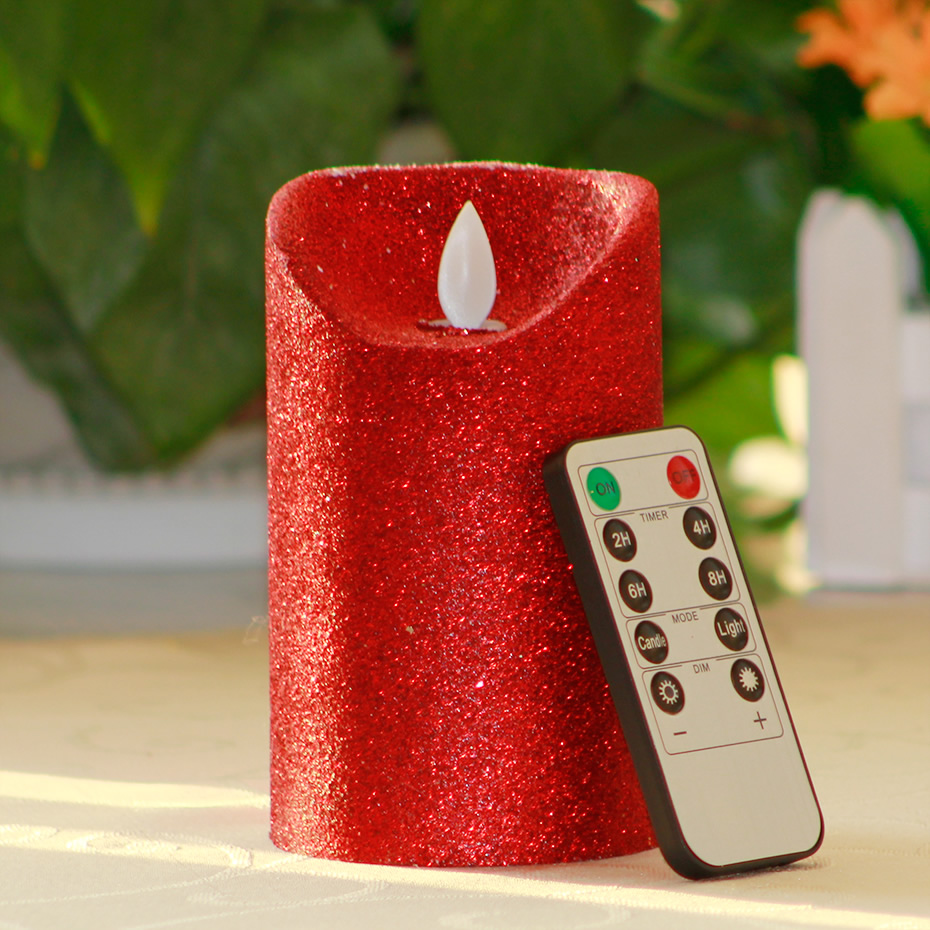 Lot Bougie Led Us 46 33 3pc Lot Red Remote Control Led Candles Pillar Scented Bougie Velas Lamp Light Wax Candle Home Wedding Decoration For Birthday In Candles