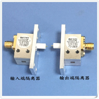 10.5-12.5GHz through wall microstrip connection structure RF isolator Tetrafluoroethylene through wall joint