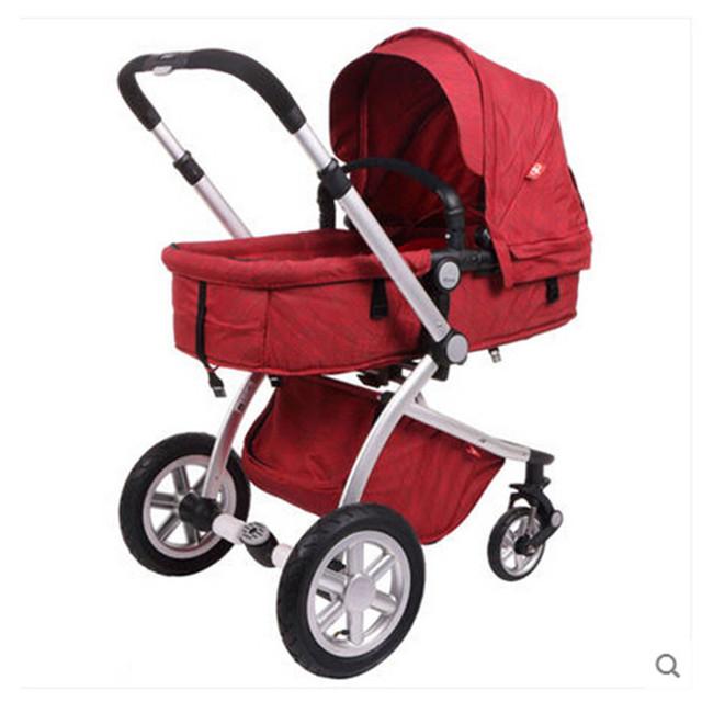 Nova marca carrinhos Carrinho de Bebê Carrinhos Incluem Acessórios Da Marca Crianças Transporte Carrinhos Carrinho De Criança 3 Em 1 Guarda-chuva Dobrável