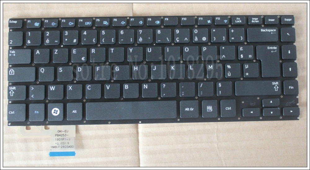 Original FR keyboard for FOR Samsung NP-535U4C 535U4B 532U4C 532U4B 535U4X 530U4B 530U4C French Laptop
