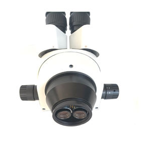 Image 3 - Big table 7X 45X Industrial Binocular stereo microscope with 0.5X Objective lens barlow for phone PCB Motherboard repair tools