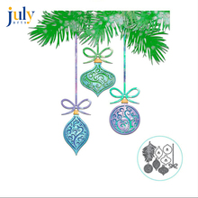Julyarts Silver Merry Christmas Die Cutting Metal Dies for Scrapbooking Card Decoration Making