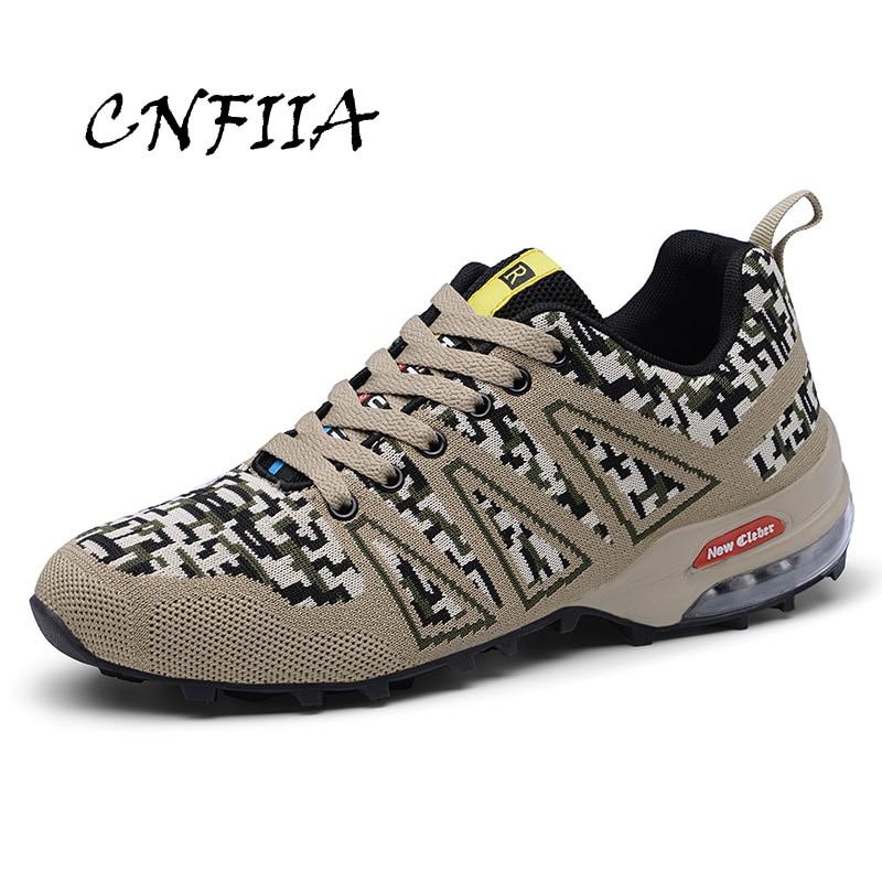 CNFIIA baskets hommes automne 2018 chaussures grande taille 39-47 homme Trekking chaussures Camouflage chaussures respirant anti-dérapant qualité nouveau