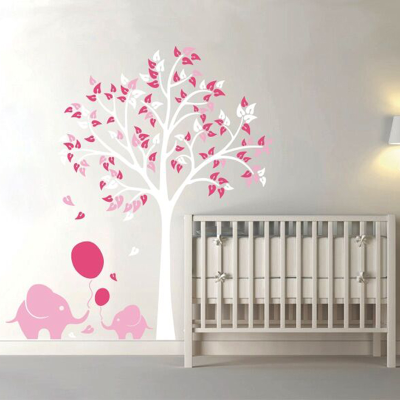 Wallpaper Mural Picture More Detailed Picture About Elephant Balloon Tree For Kid Living Room