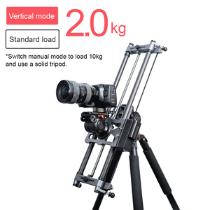 Image 4 - YC ONION Track Camera Slider Carbon Fiber Adjustable Angle Tube Follow Focus Pan for Stabilizer DV DSLR Cameras Video Shooting