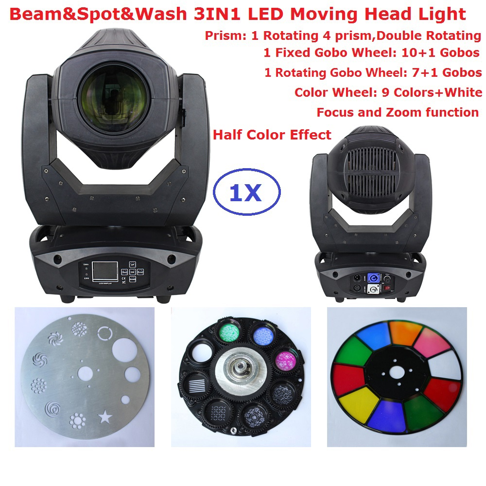 2017 New Arrival Beam Spot Wash 3IN1 LED Moving Head Lights 200W High Power Beam Lights 90-240V With Focus And Zoom Function 2xlot led moving head spot lights 330w led lamp high power professional led moving head light lcd display 5 35 motorized focus