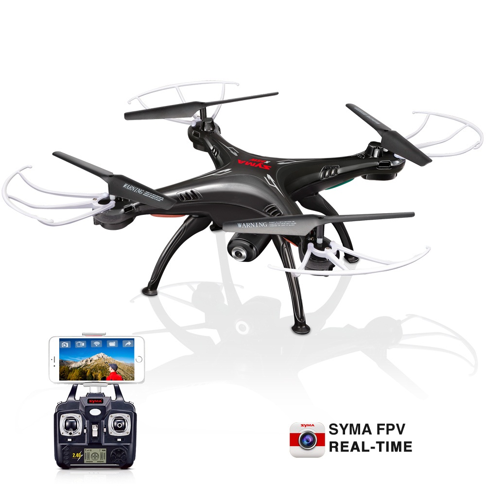SYMA X5SW RC Drone 2.4G 6 Axis Gyro Remote Control Quadcopter Aircraft Helicopter drones Dron With Camera Wifi Real Time FPV