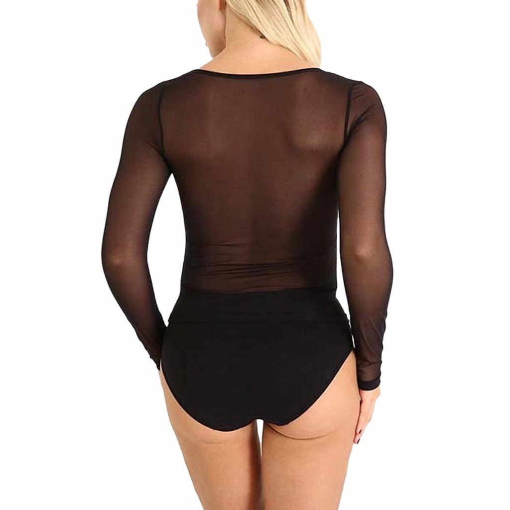 女性シースルー Tシャツ長袖シームレスアームシェイパーショートトップメッシュ Tシャツファム camisetas mujer