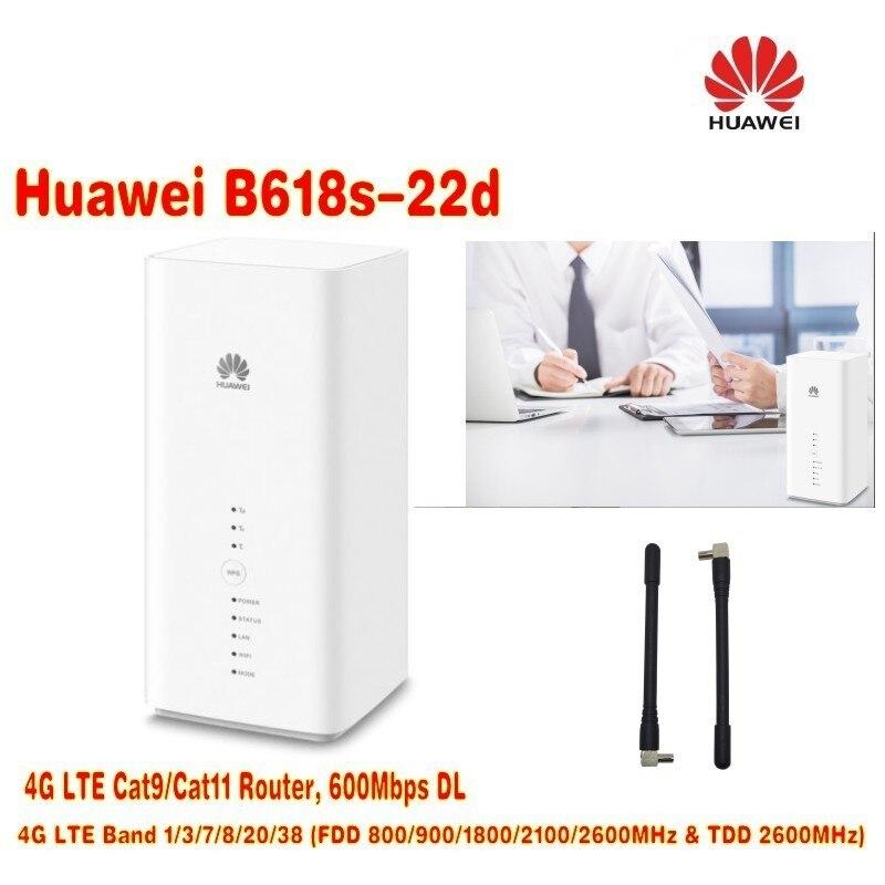 Huawei B618 LTE WiFi Router+2pcs antenna