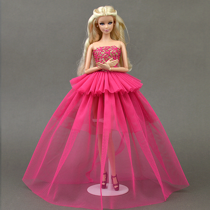 Sweet Pink Party Evening Dress For Barbie Doll House Multi layer Dresses  Lace Gauze Dress. Online Get Cheap Sweet Barbie Doll  Aliexpress com   Alibaba Group