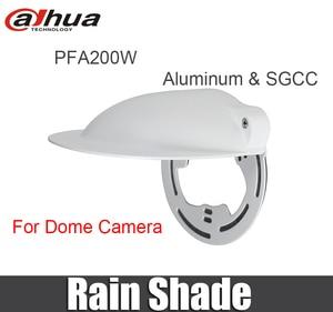 Image 1 - Dahua orijinal PFA200W Yağmur Gölge Dome Kamera CCTV Aksesuarları Braketi Dome IP kamera