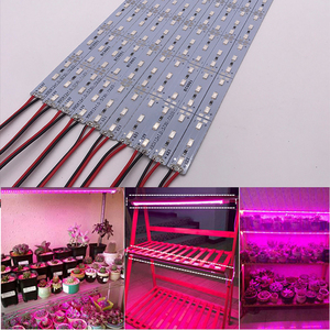 Image 2 - Necen 0.5M 10PCS 12V LED צמחים לגדול אור DC12V 5730 LED בר אור עבור אקווריום חממה צמח גדל 10 יח\חבילה