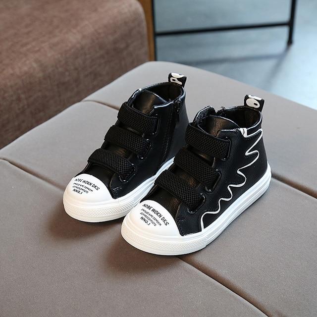 Us 21 38 Anak Anak Sepatu Anak Perempuan Sepatu 2018 Musim Gugur Baru Sepatu Casual Anak Sayap Anak Perempuan Sepatu Olahraga Sepatu Flat Nyaman