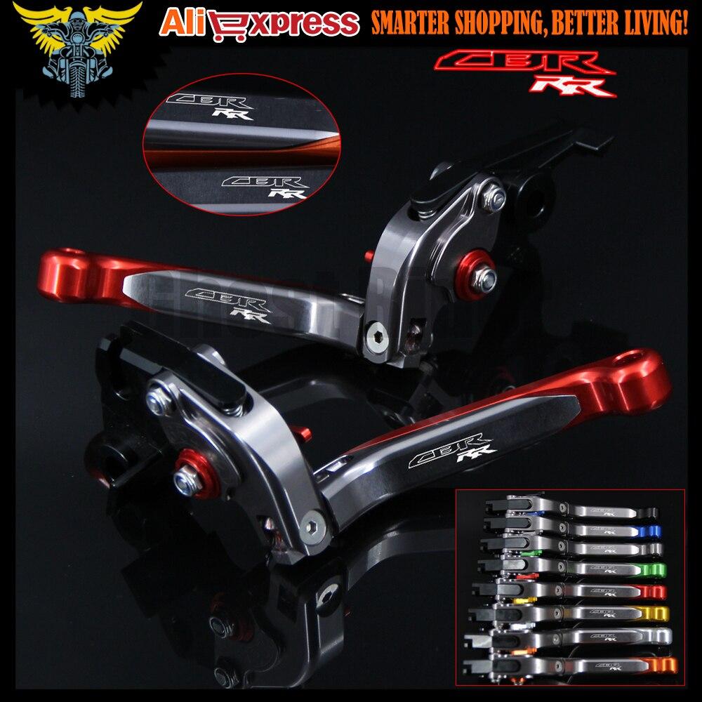 Logocbr Rr Red Titanium Motorcycle Brake Clutch Levers For Honda 10 Shogun Sp Cbr1000rr Fireblade 08 09 2011 2012 2013 2014 2015 2016