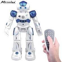 Controle remoto Rc Robot Toy Presente, Miroad Kits de Robótica Inteligente Andando Cantar Dança Programável e Gesto Sensing KR2